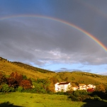 Arcobaleno su Monte Salviano/Penna